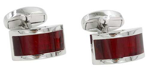 Red Ruby Premium Cufflinks