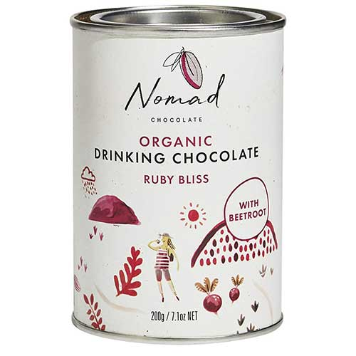 Ruby Bliss Organic Hot Chocolate