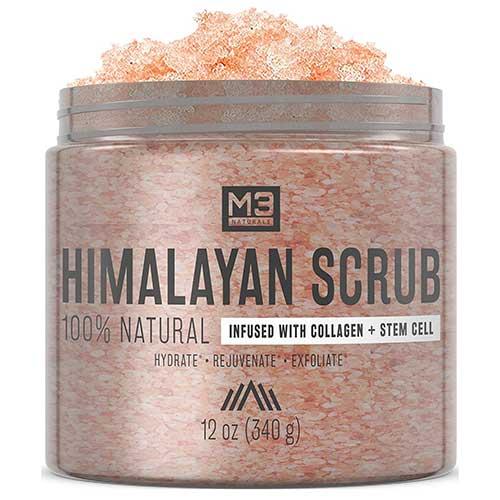 Salt and Collagen Scrub