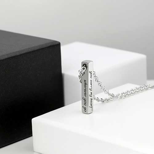 Silver Plated Necklace for Men