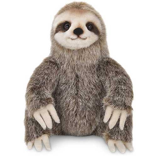 Simon the Sloth Three Toed Stuffed Animal