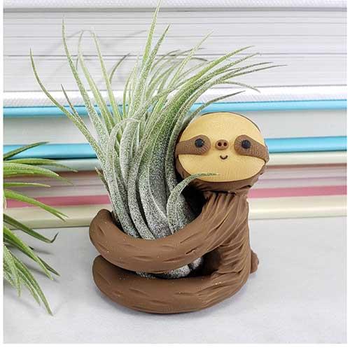 Sloth Air Plant Holder