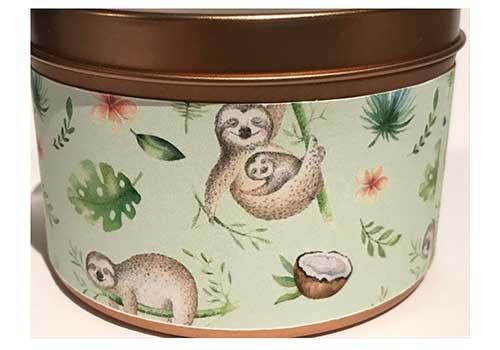 Sloth Candle