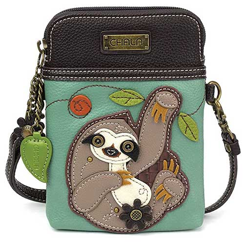 Sloth Cell Phone Purse