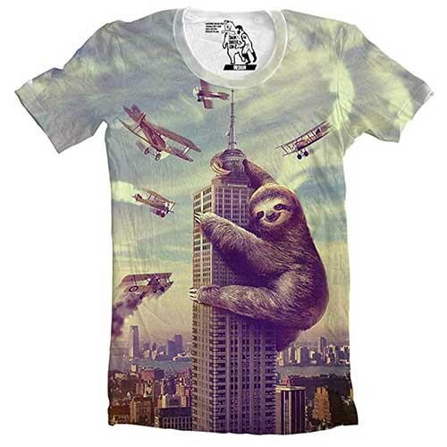 Sloth King Kong T-Shirt