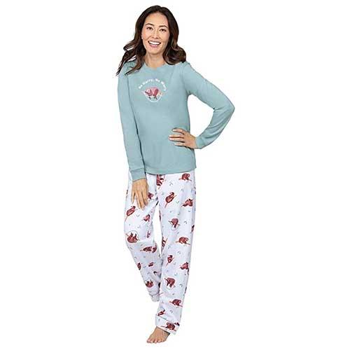 Sloth Pajama Bottoms