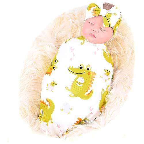 Sloth Swaddling Blanket