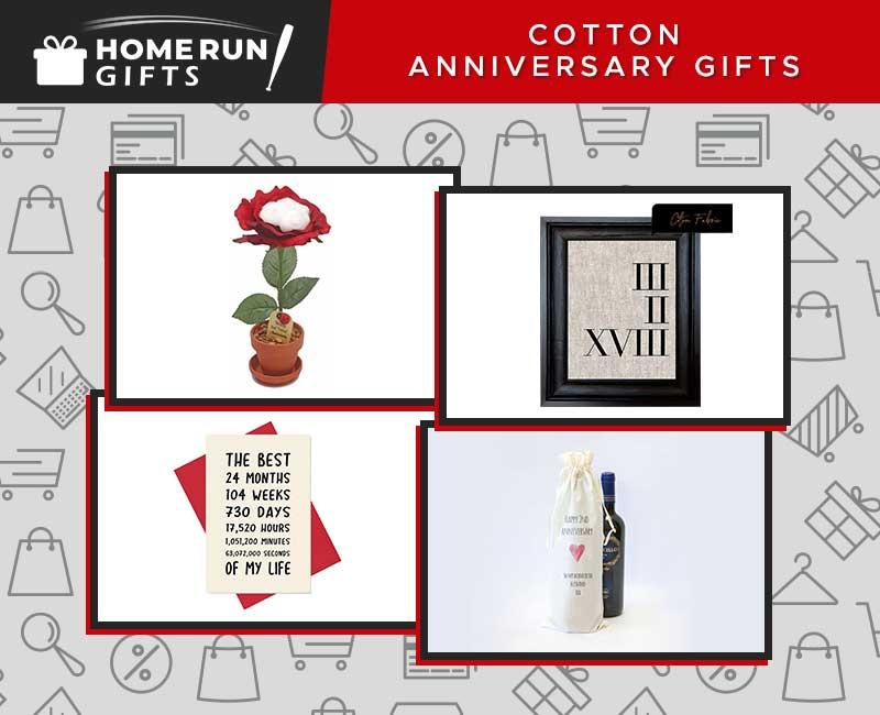 Some Unique Cotton Anniversary Gifts