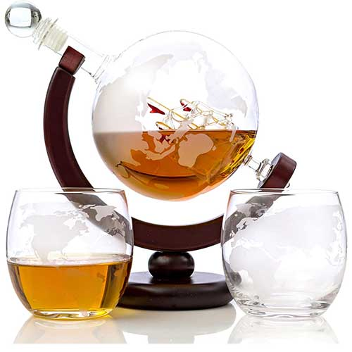 Whisky Globe Decanter