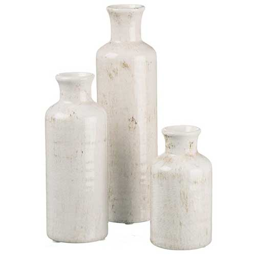 Distressed Vase Set
