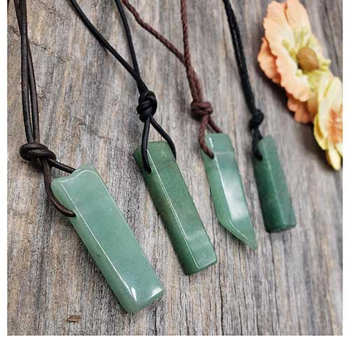 Green Adventure Pendant Necklace
