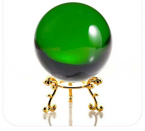 Green Crystal Ball