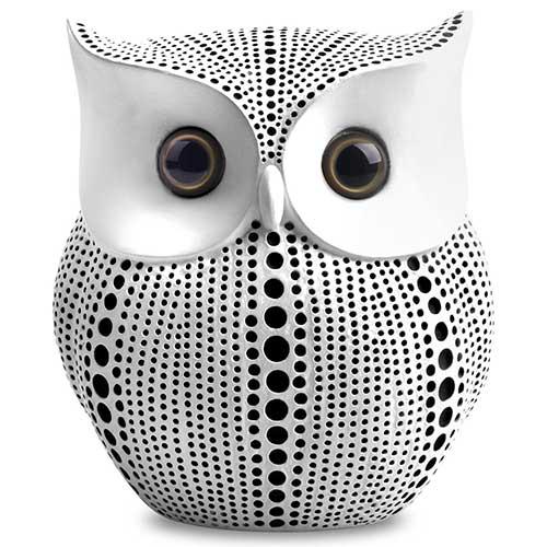 White Owl Statue
