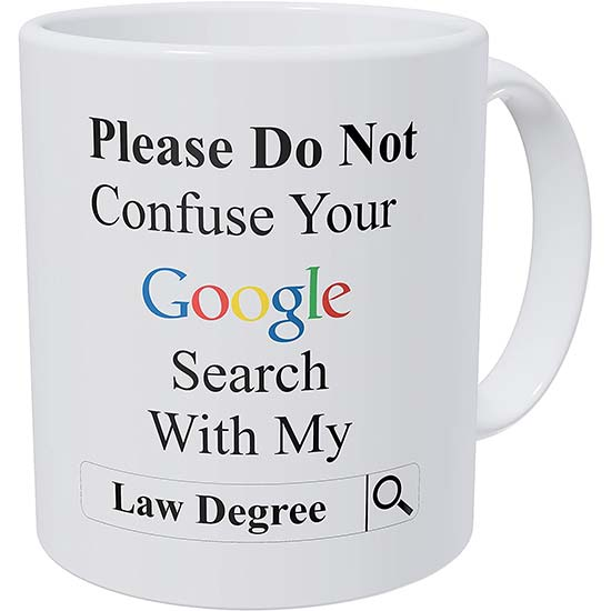 Don't Confuse Your Google Search Mug