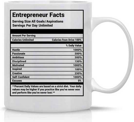 Entrepreneur Facts Mug