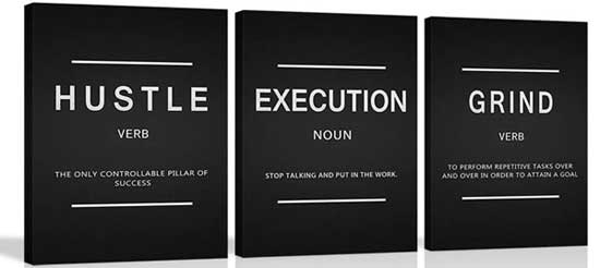 Hustle Culture Poster