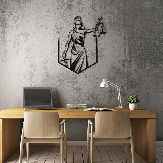 Lady Justice Wall Art