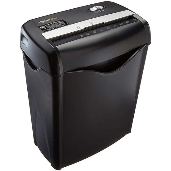 Paper and Credit Card Shredder