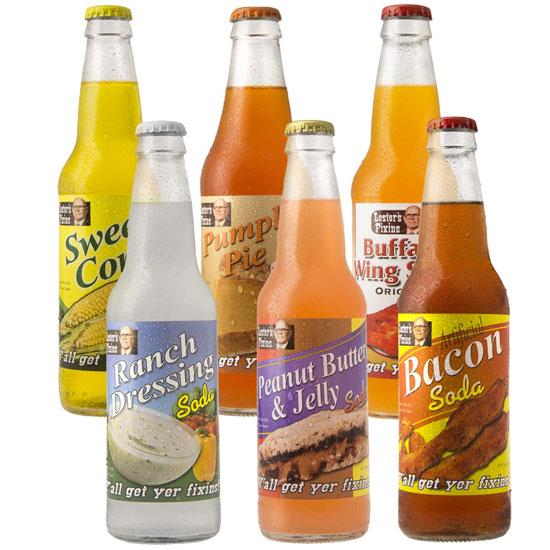 Unique Flavor Sodas